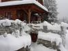 Kalba domek v zimě